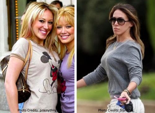 Haily Duff Breast augmentation : breast implants : celebrity cosmetic surgery  boob job