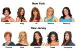 New york housewives : new jersey housewives : celebrity cosmetic surgery : new york housewives vs new jersey housewives : breast implants : liposuction : facelift