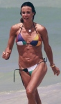 Kelly Bensimon, ripped abs, Real Housewives of New York City, kelly bensimon on the beach, entertainment, celebrities, beauty