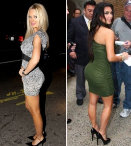 Kim Kardashian vs Sophie Turner : is Kim kardashian's booty real? : brazilian butt lift, fat injections to booty, butt implants