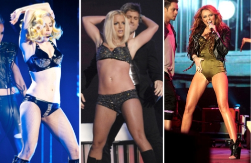 lady gaga, britney spears, miley cyrus, celebrities, beauty, entertainment, cosmetic surgery