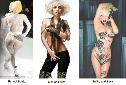 lady gaga : celebrity cosmetic surgery : liposuction : breast augmentation