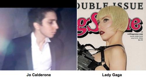 Lady Gaga looks like a man, Lady Gaga plastic surgery, celebrity cosmetic surgery, celebrity plastic surgery, Jo Calderone