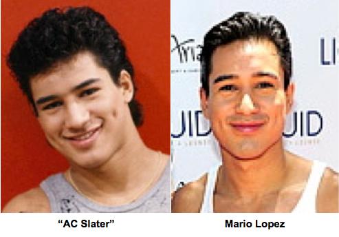 Mario Lopez Celebrity Plastic Surgery Breast Augmentation New