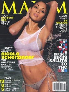 Nicole Scherzinger on Maxim, Nicole Scherzinger plastic surgery, Nicole Scherzinger breast implants, pussy cat dolls plastic surgery