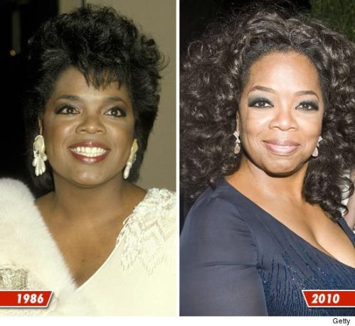 Oprah, cosmetic surgery, celebrities, facial rejuvenation, beauty, entertainment