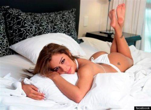 Larissa Riquelme agrees to run naked, lingerie model will run naked for soccer team, lingerie model loves soccer, World Cup, celebrity plastic surgery, Larissa Riquelme breast implants